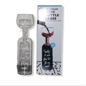 Wine bottle/ Glass ( with box)